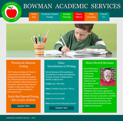 Bowman Academic Services